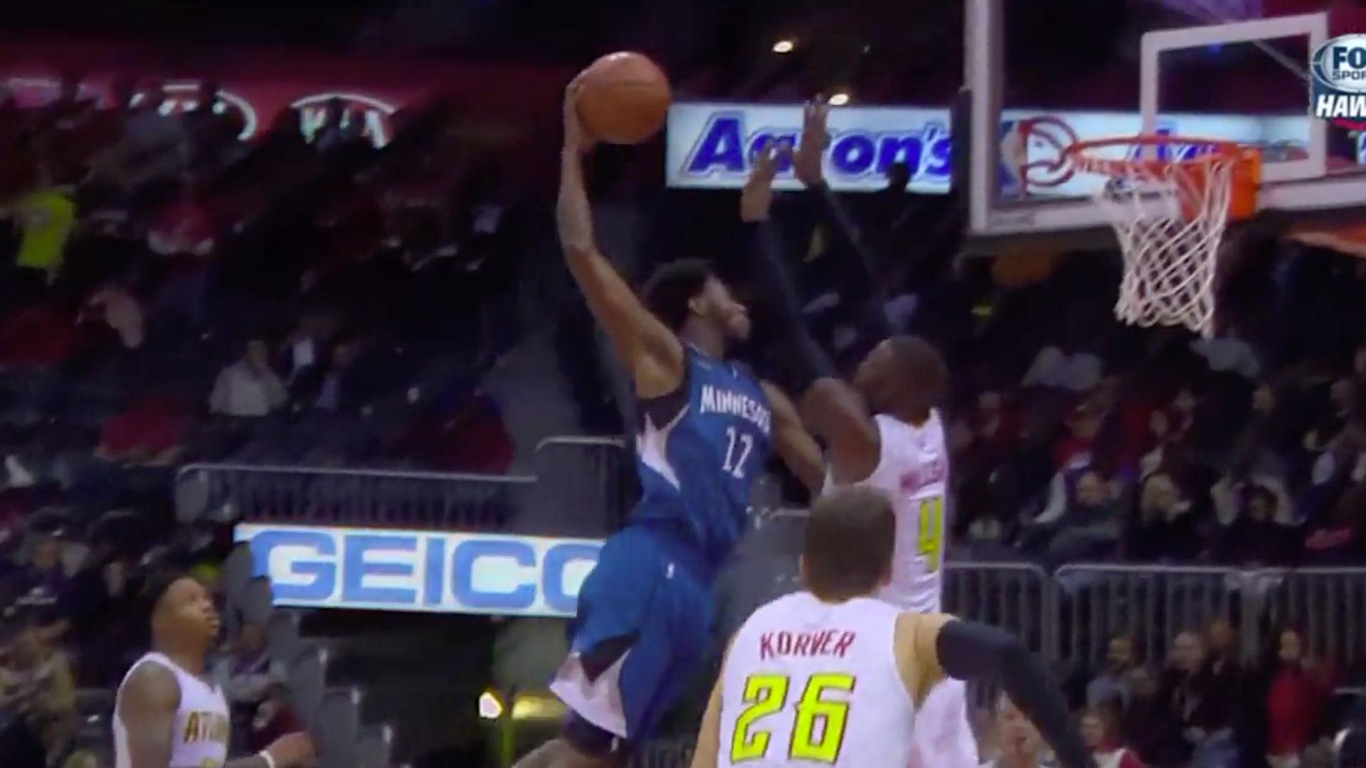 NBA | Wiggins can jump much higher than most humans | SPORTAL