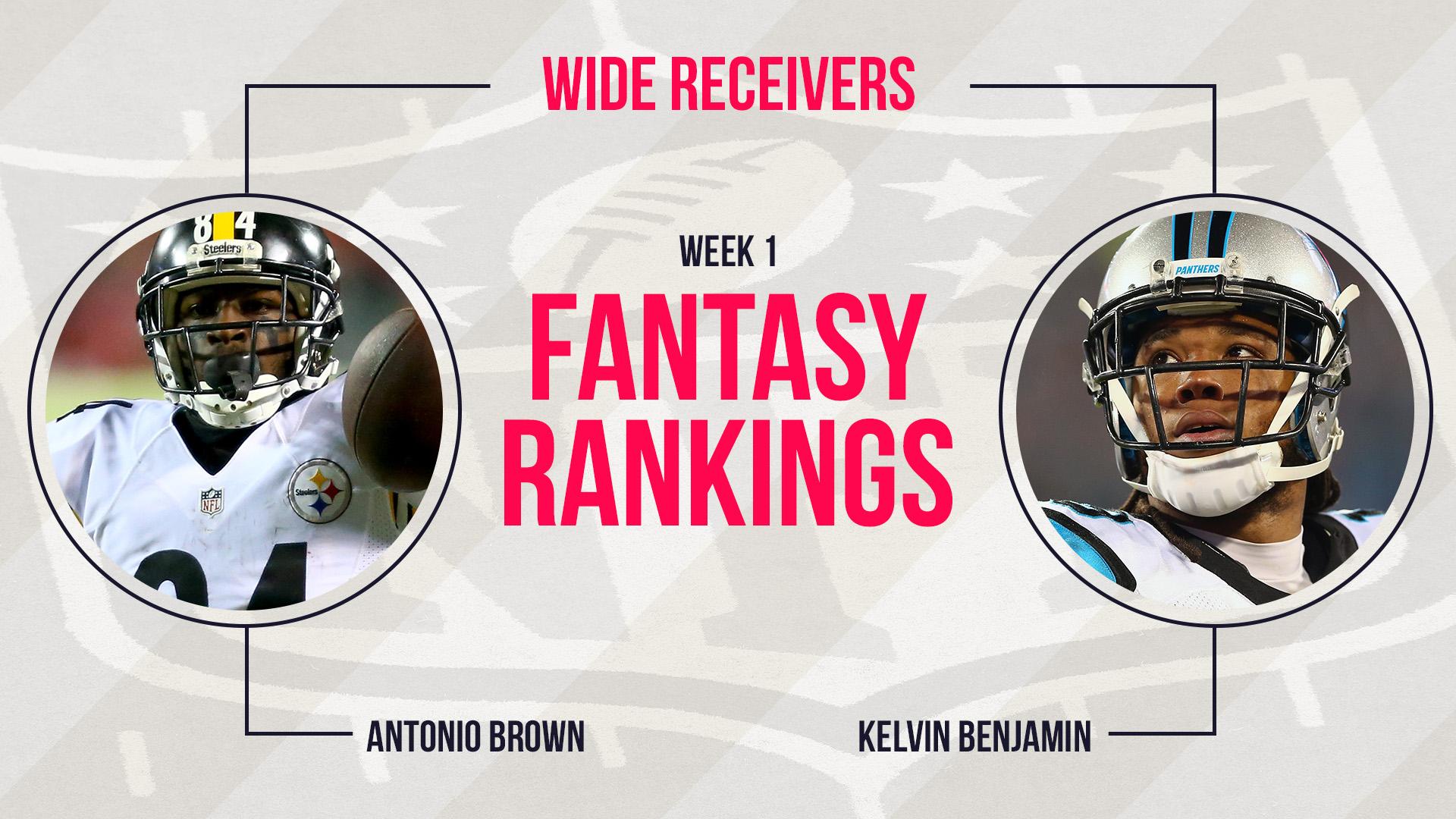 Fantasy Football Week 1 Rankings Wide Receiver 15