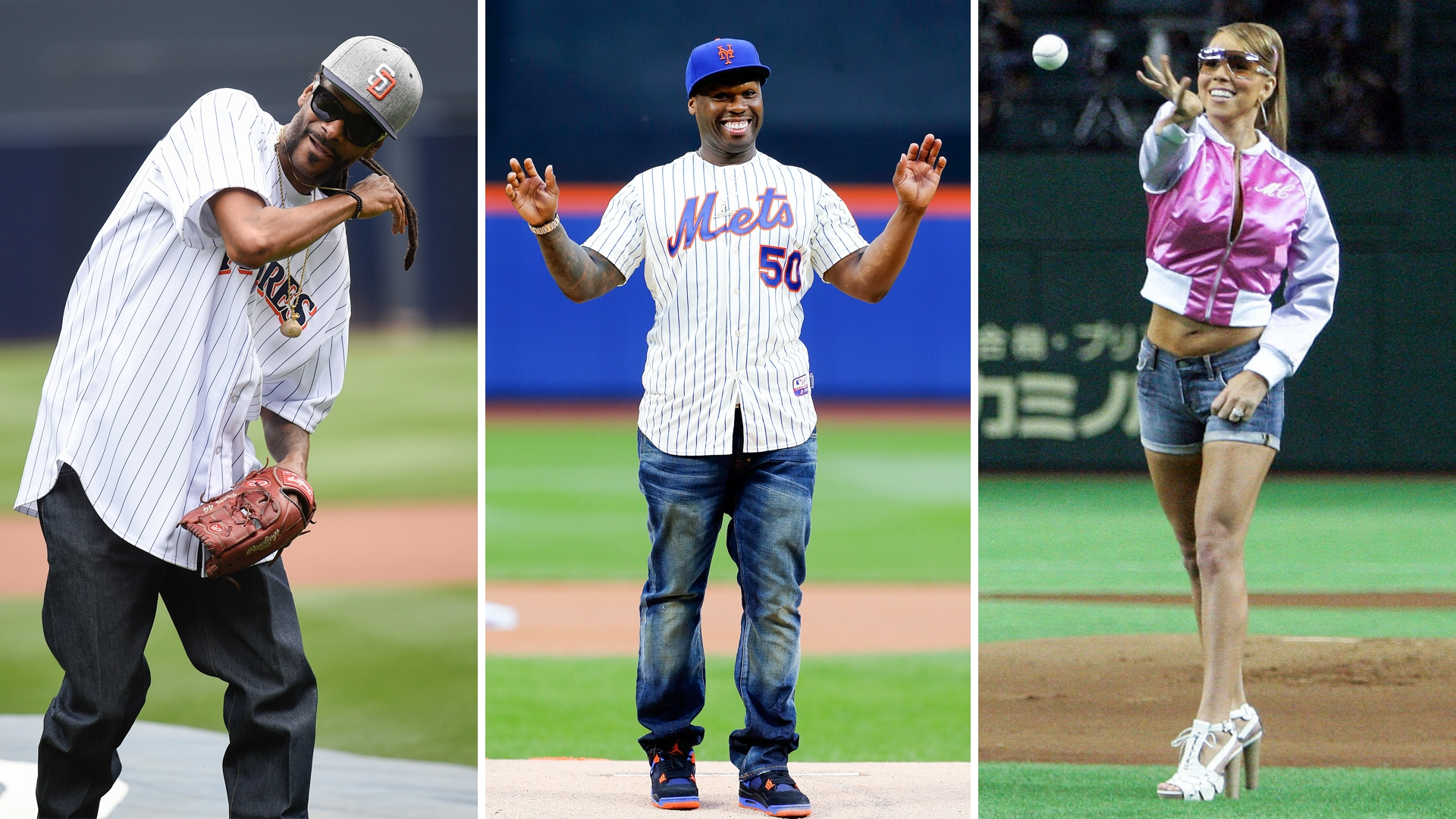 Some of the Best and Worst Celebrity First Pitches | AOL.com