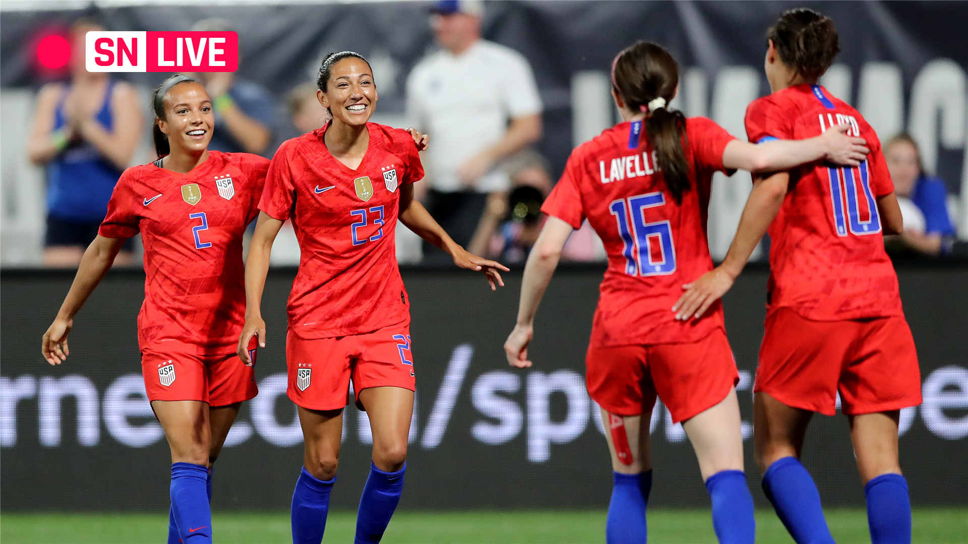 USWNT vs. Thailand: Live score, updates, highlights from USA's World Cup match