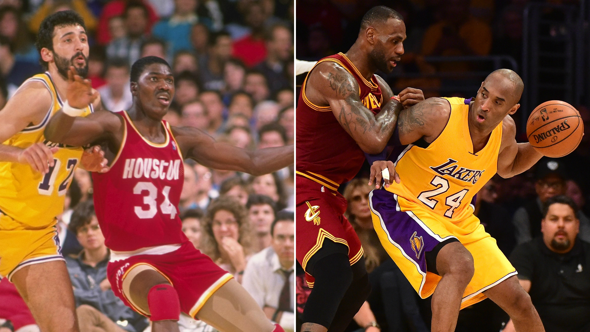 Hakeem Olajuwon says Kobe Bryant was his greatest success as a