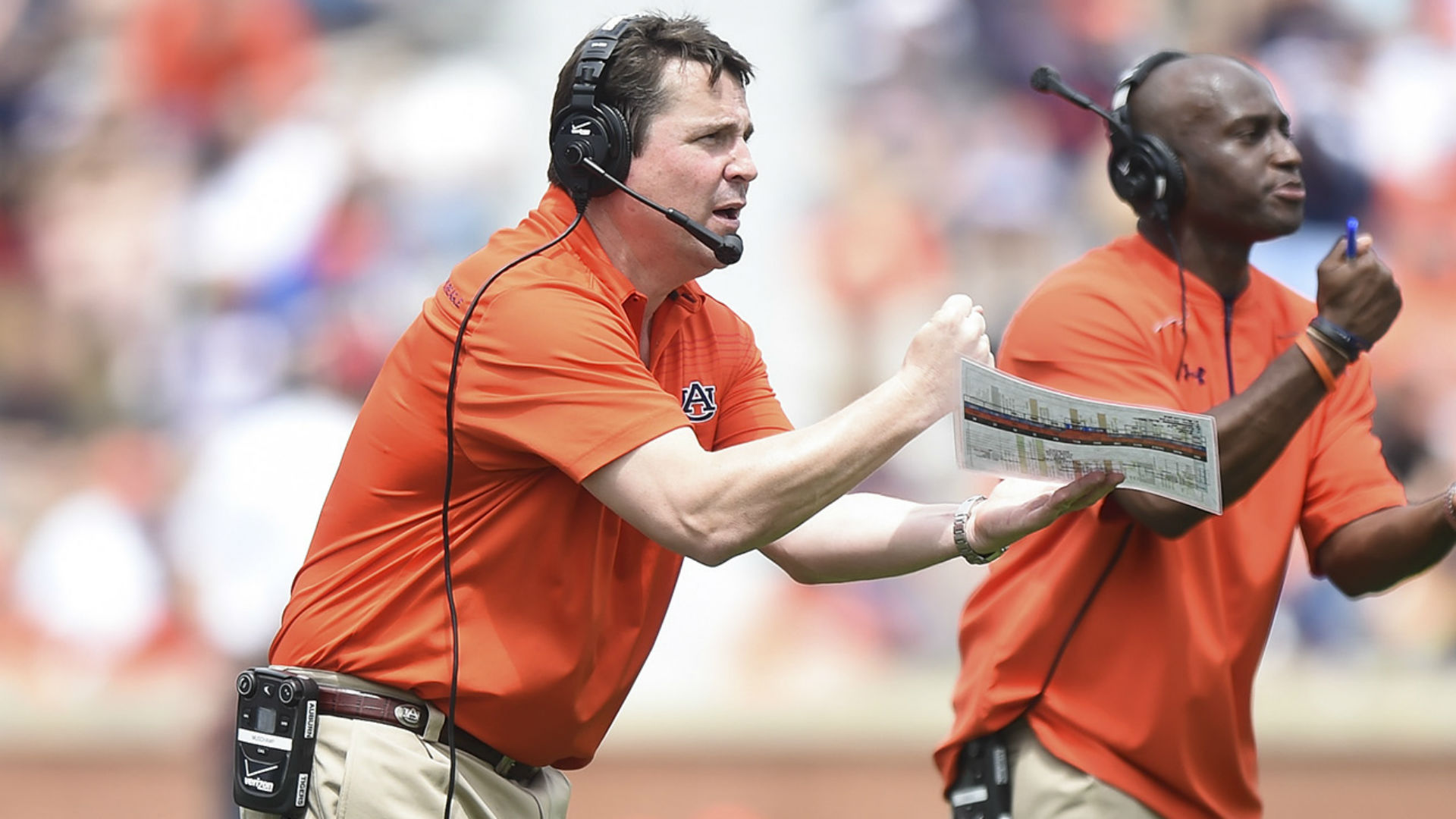 Will Muschamp has already made his mark on Auburn's resurgent defense