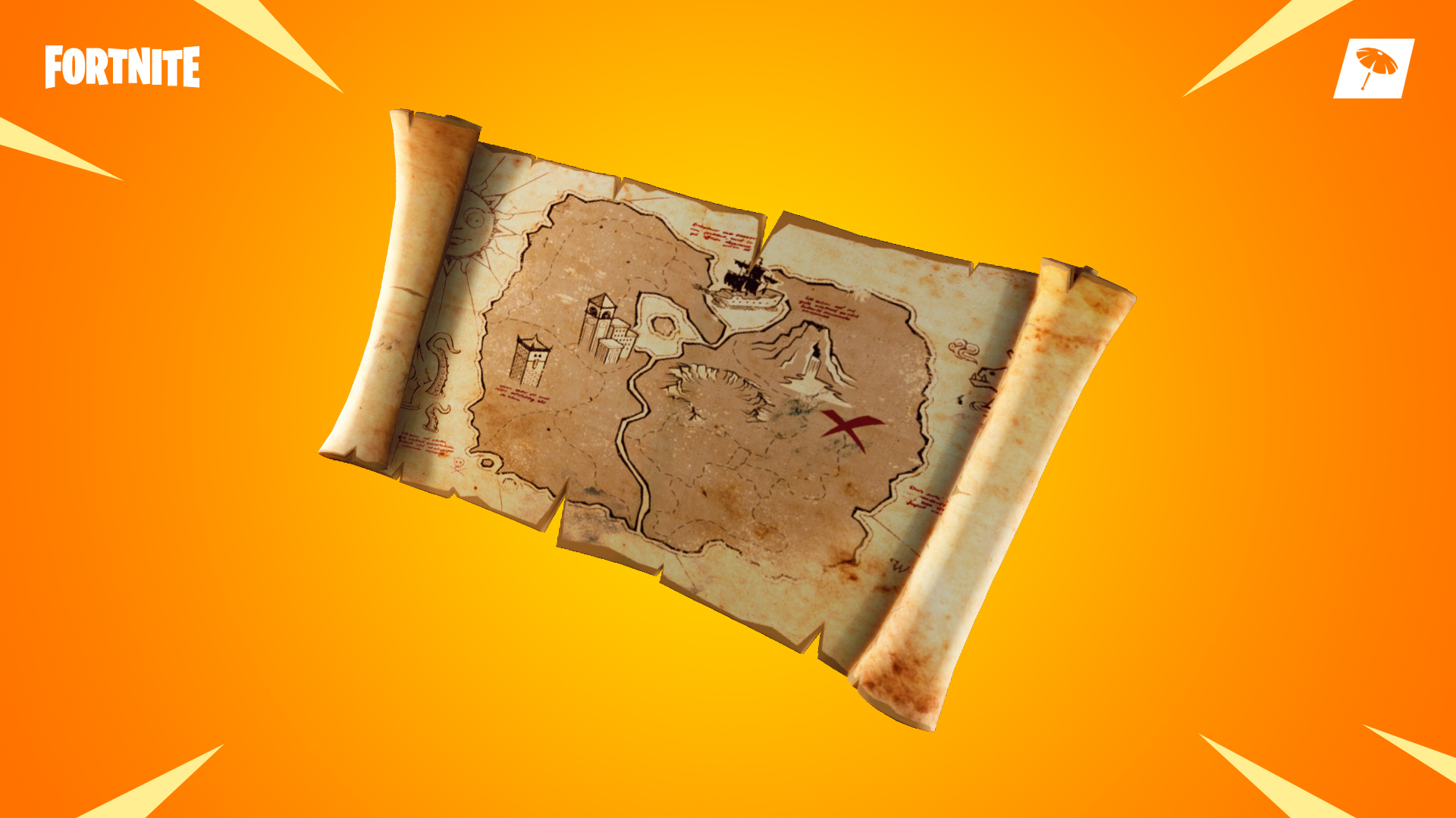 Image result for fortnite treasure map