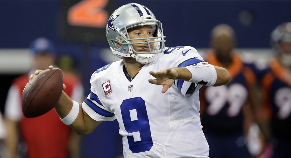 Week 5 fantasy football studs, duds: Romo lights up Denver