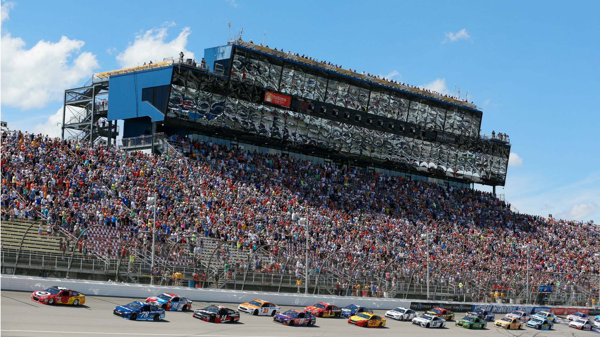 NASCAR at Michigan: Live updates, highlights of the FireKeepers Casino 400
