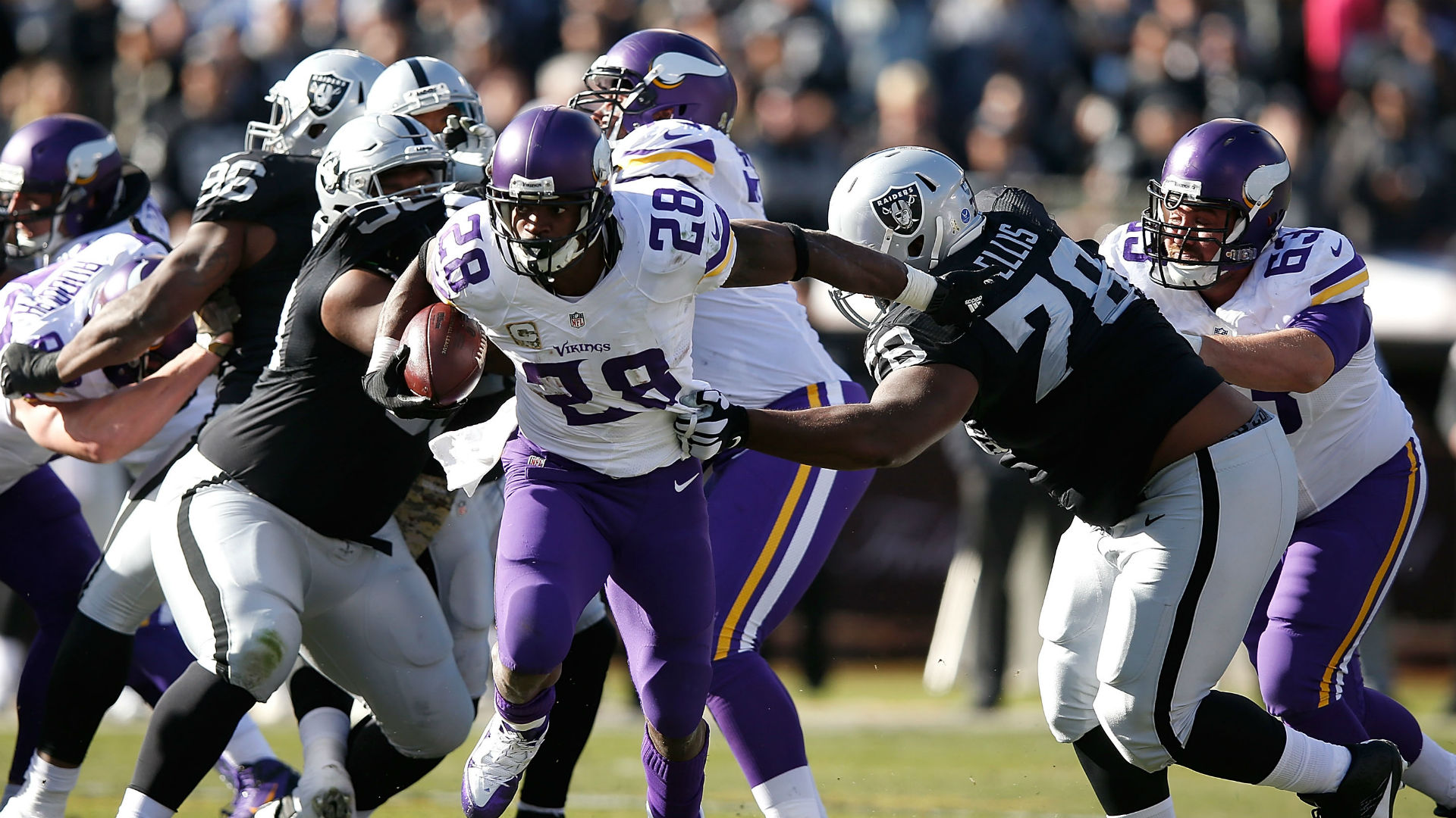 Watch out adrian peterson reaching new levels nfl sporting news