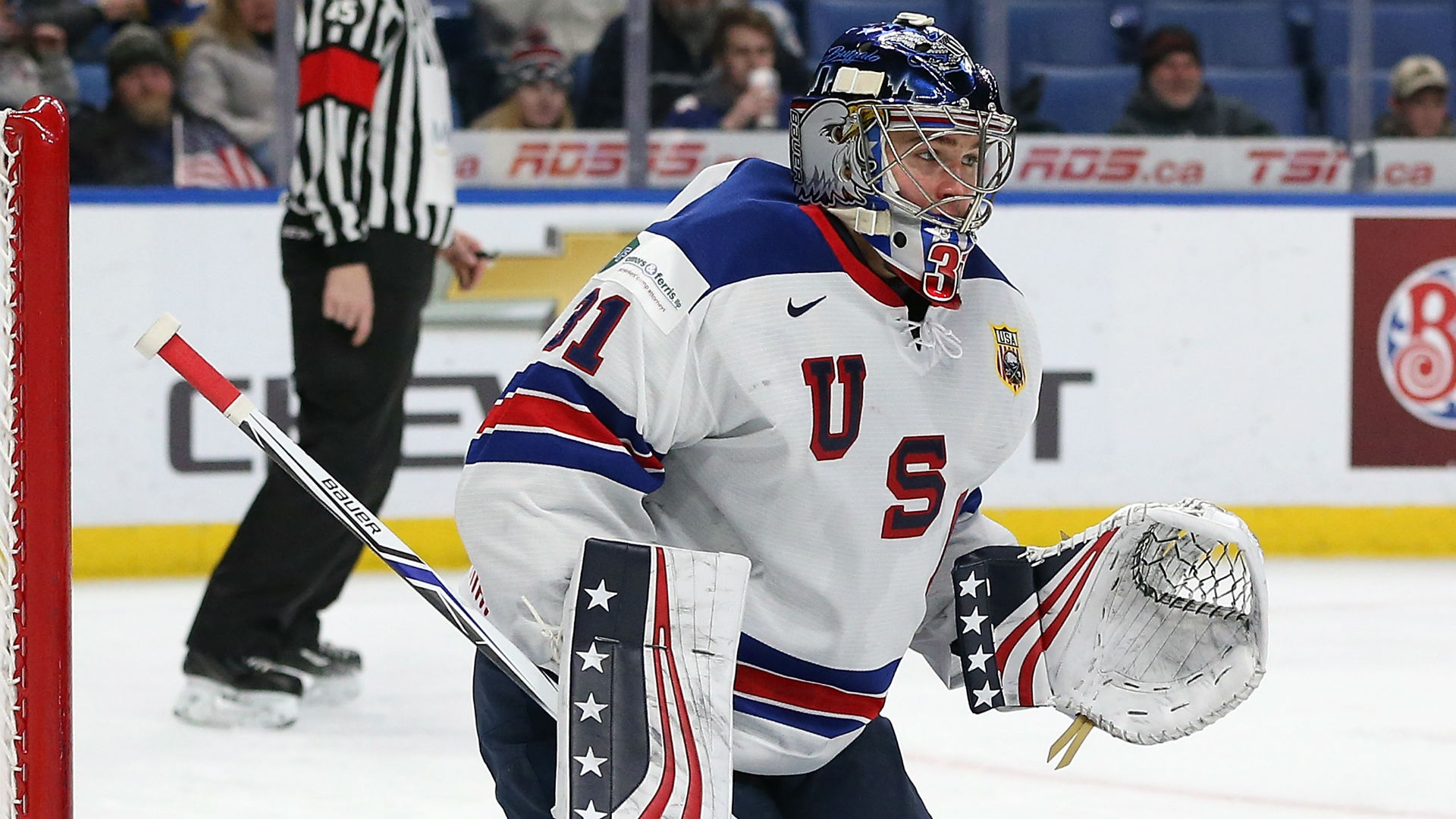 WJC: Leafs Goalie Prospect Woll Focused On WJC Gold, Not Olympics Yet