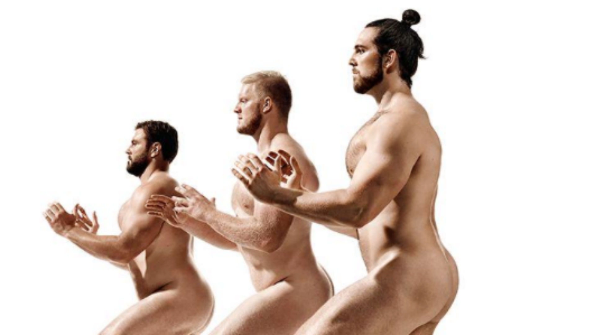 Colts offensive linemen go almost naked for ESPN 'Body Issue'