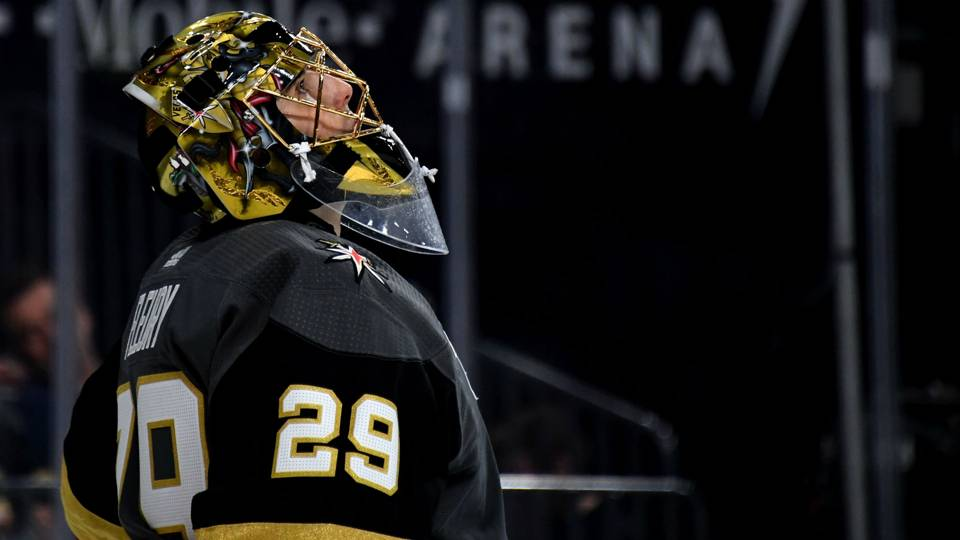 Marc-Andre Fleury hopes to finish career with Golden Knights: 'I wouldn't want to go anywhere else'