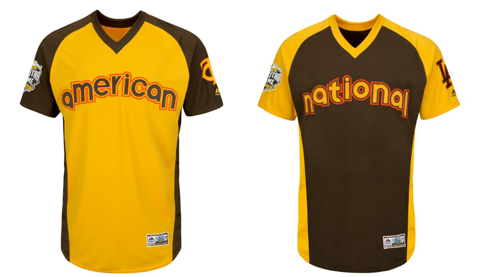 Old school Padres themed Home Run Derby jerseys are awesome