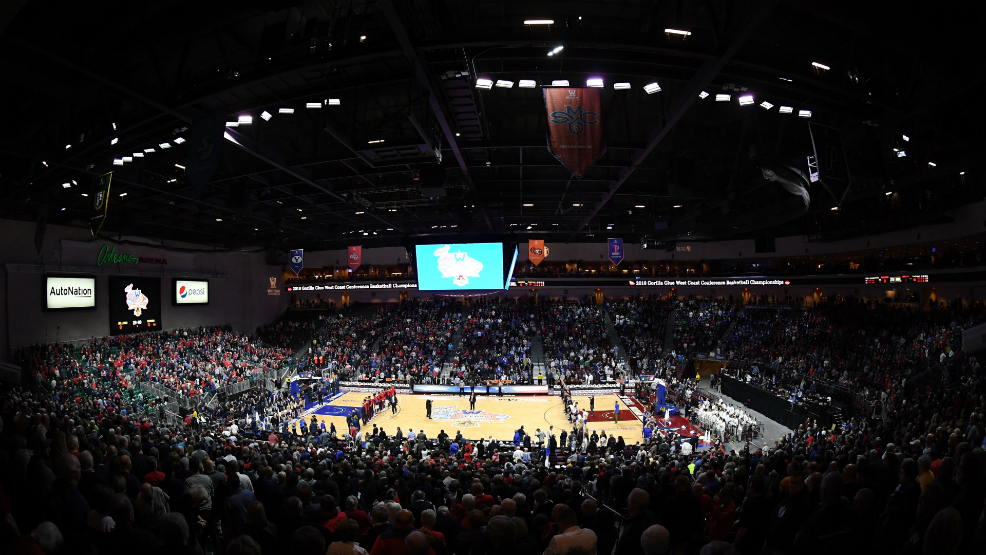 Saint Mary's knocks off No. 1 Gonzaga 60-47 for WCC title