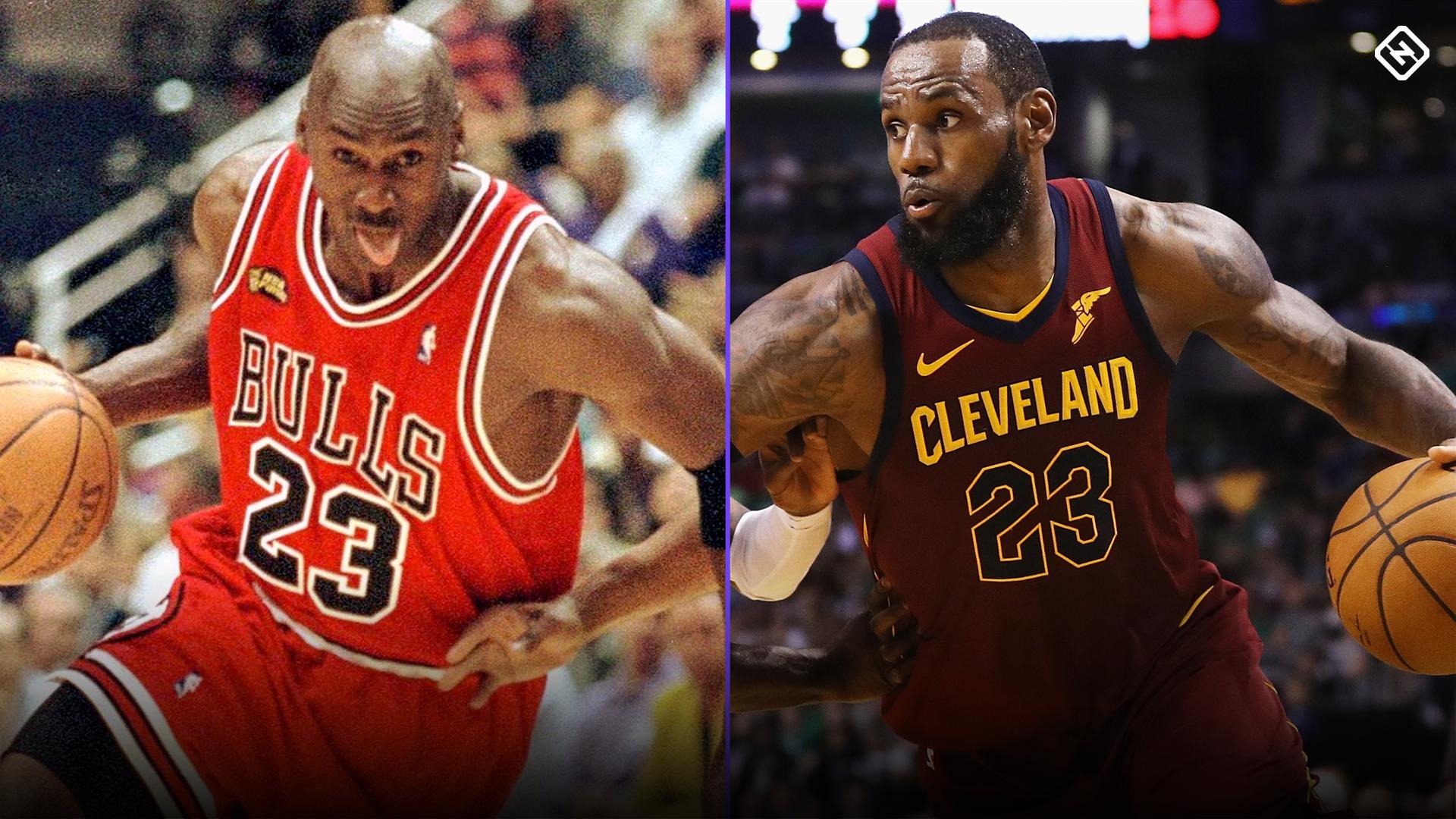 In Michael Jordan vs. LeBron James debate, dissecting ...  In Michael Jord...