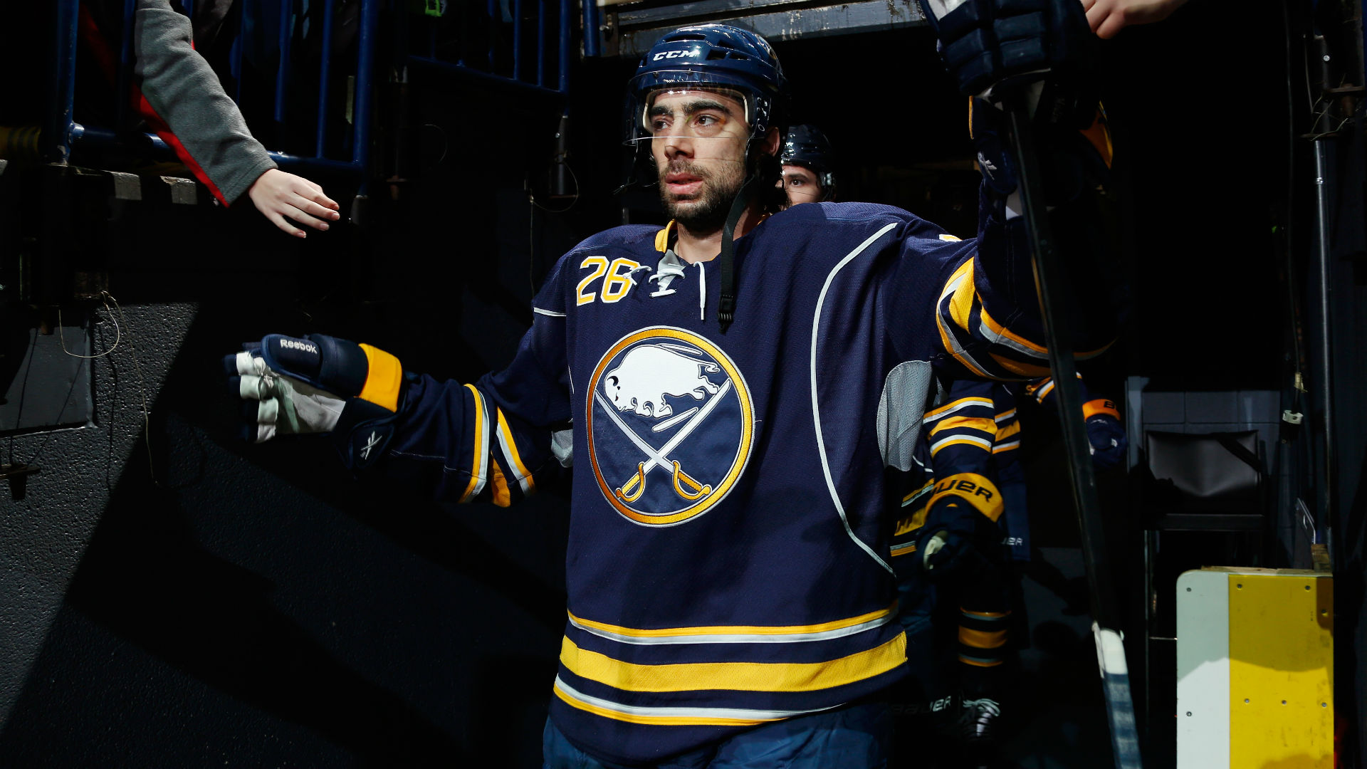 Sabres shape up roster, get Wilson, waive Moulson