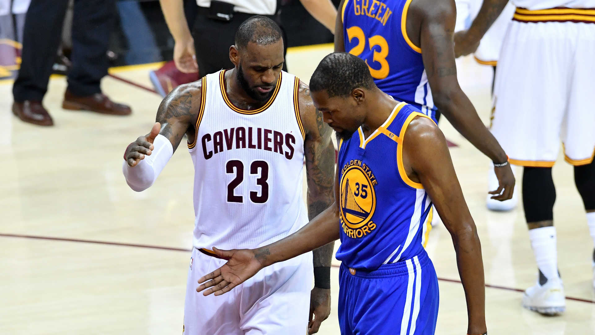 Golden State Warriors Game 5 Recap: LeBron's Herculean Effort Not Enough