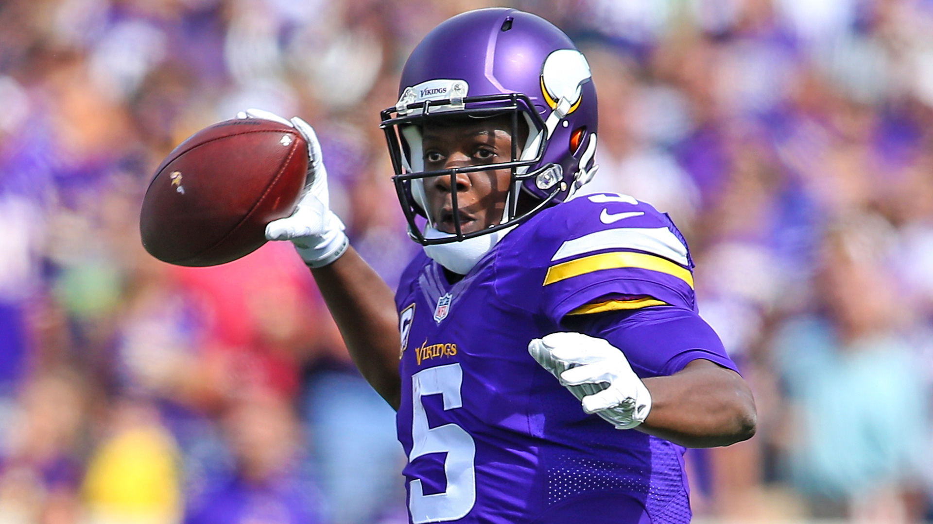 Did Teddy Bridgewater post a video of himself throwing on Instagram?