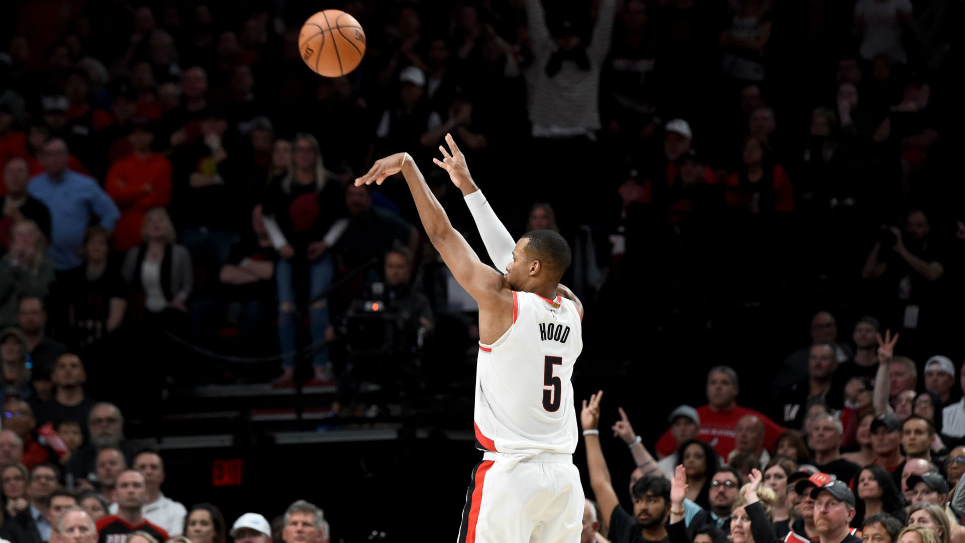 NBA playoffs 2019: Rodney Hood suddenly becomes hero in Blazers' 4-OT triumph over Nuggets