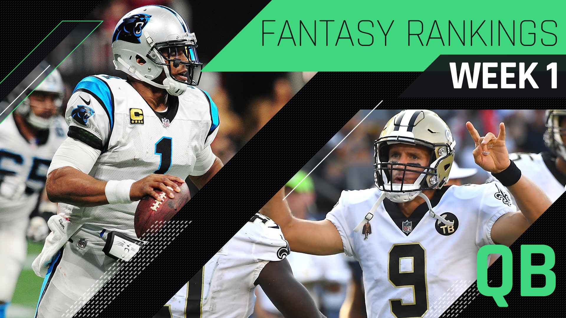 Week 1 Fantasy Rankings: Quarterback