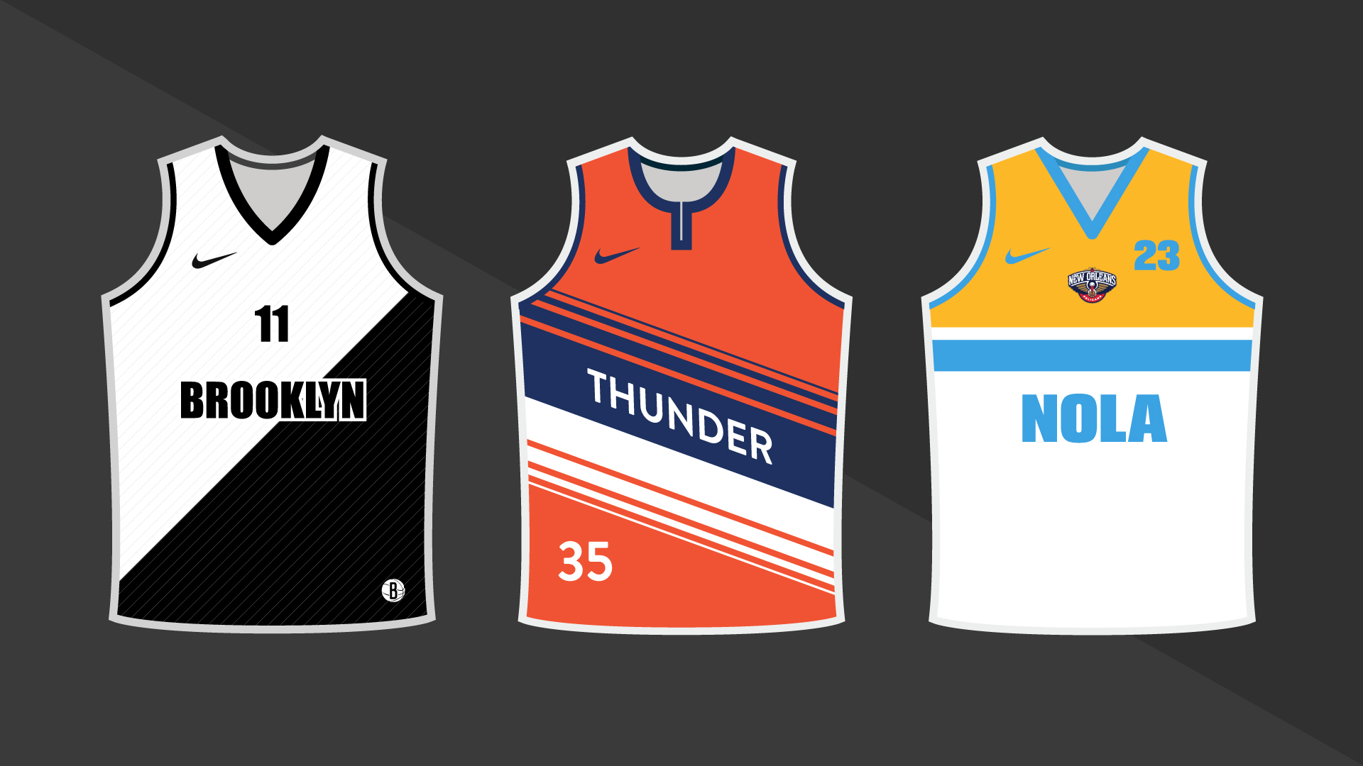 42ef67c97001 SN redesigns 10 NBA uniforms that need it most under Nike