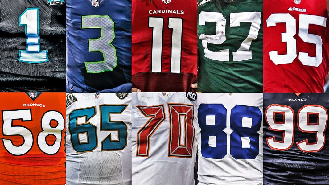 Best current NFL players at each jersey number, 1 to 99   Sporting ...