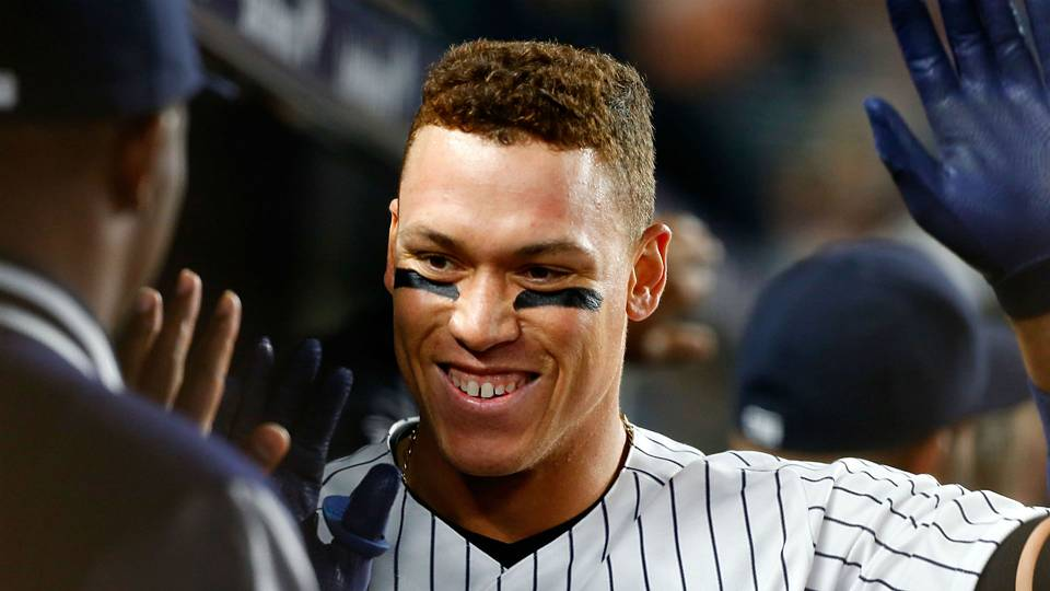 aaron judge superfans are in session at yankee stadium