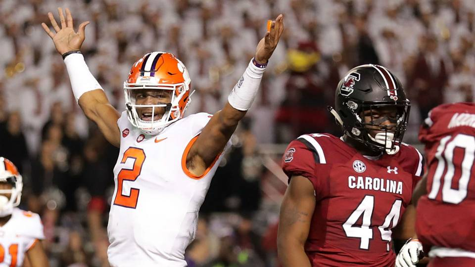 College Football Rankings Clemson Takes No 1 Spot After Alabama
