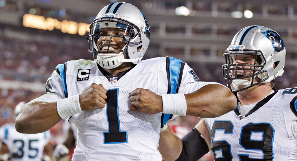 Week 9 DraftStreet Picks: Taking Cam for the win