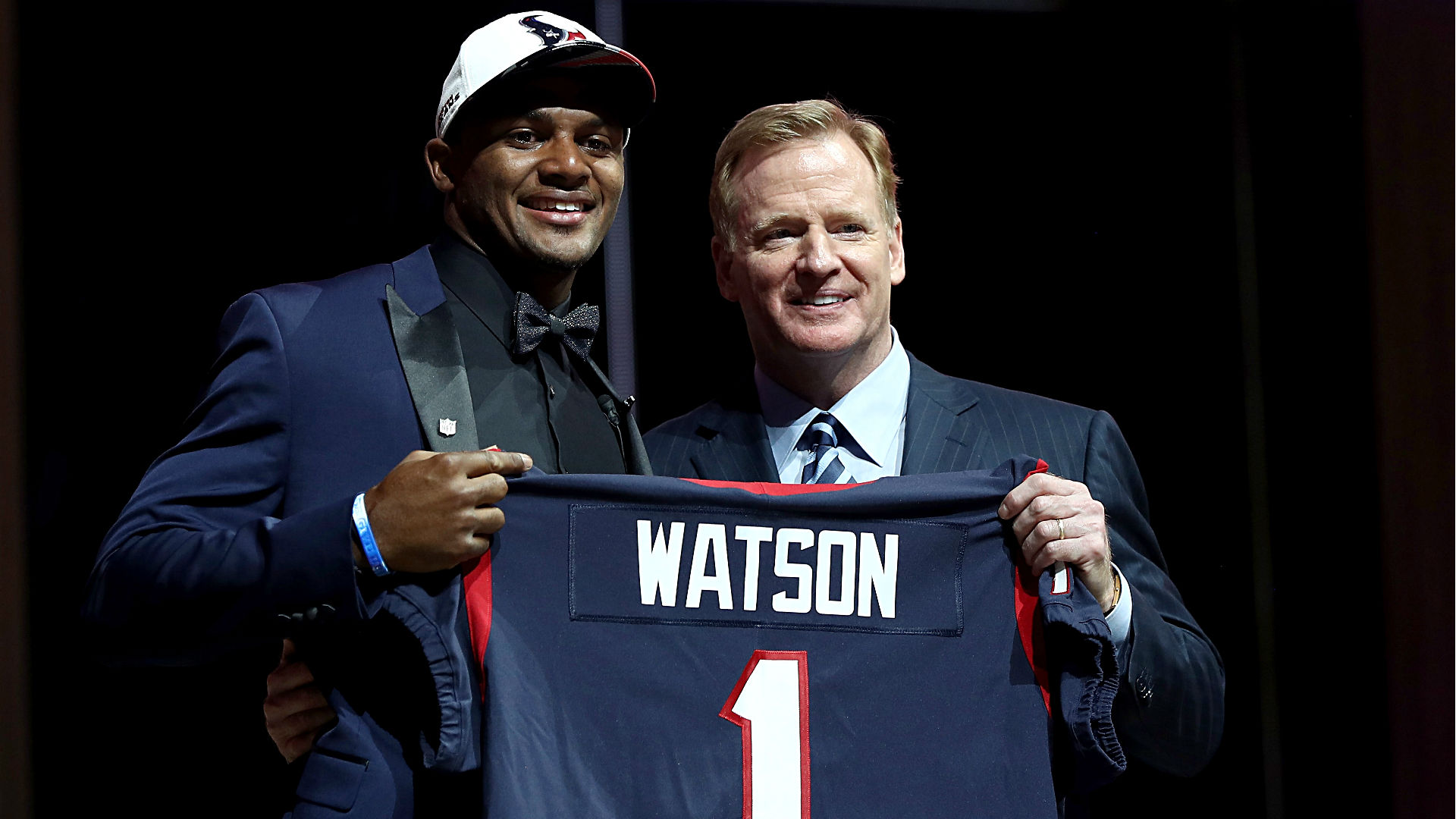 Deshaun Watson Brought To Tears Reading Note From Mama After Getting Drafted
