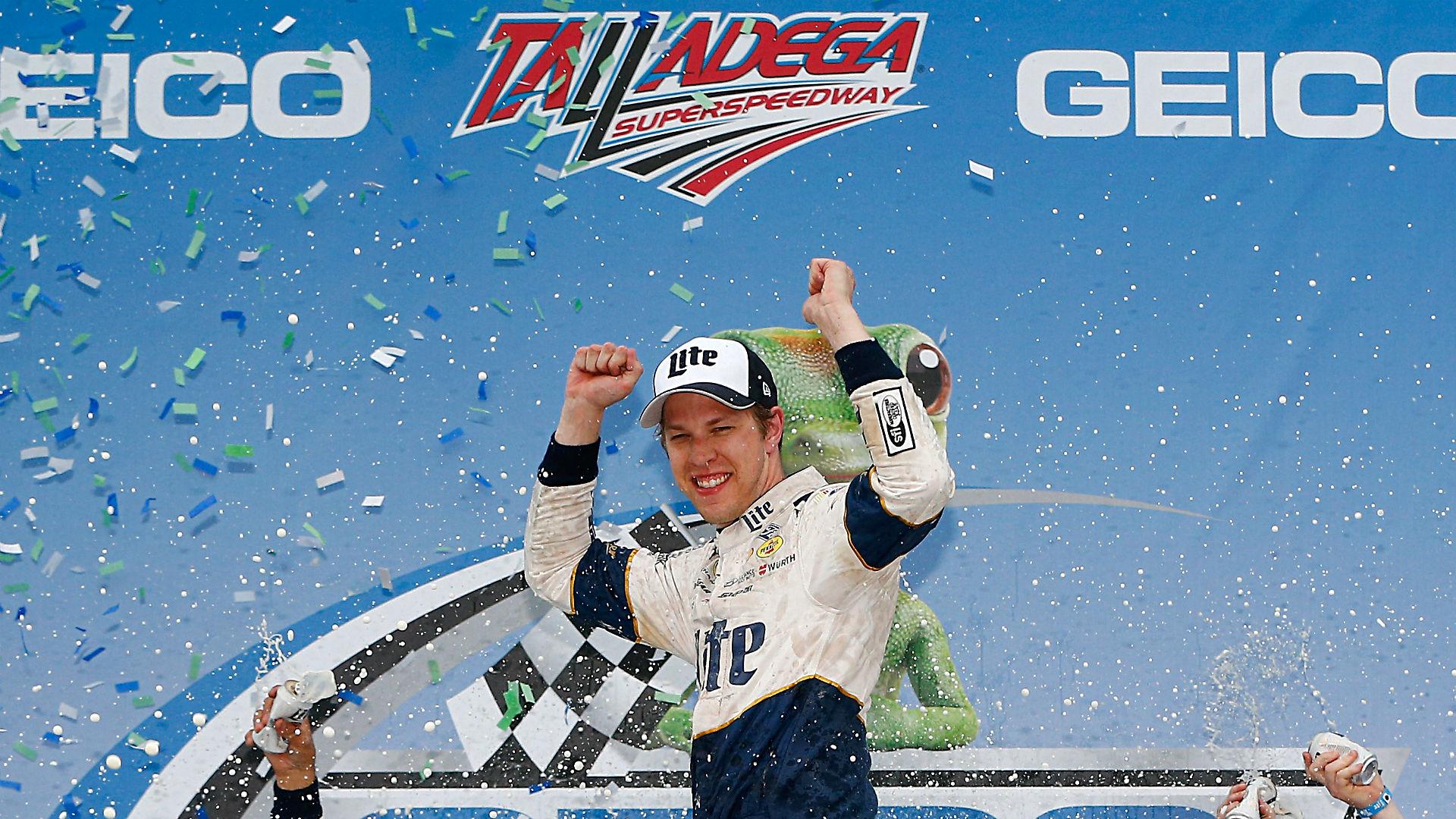 Stenhouse writes new chapter as a NASCAR winner