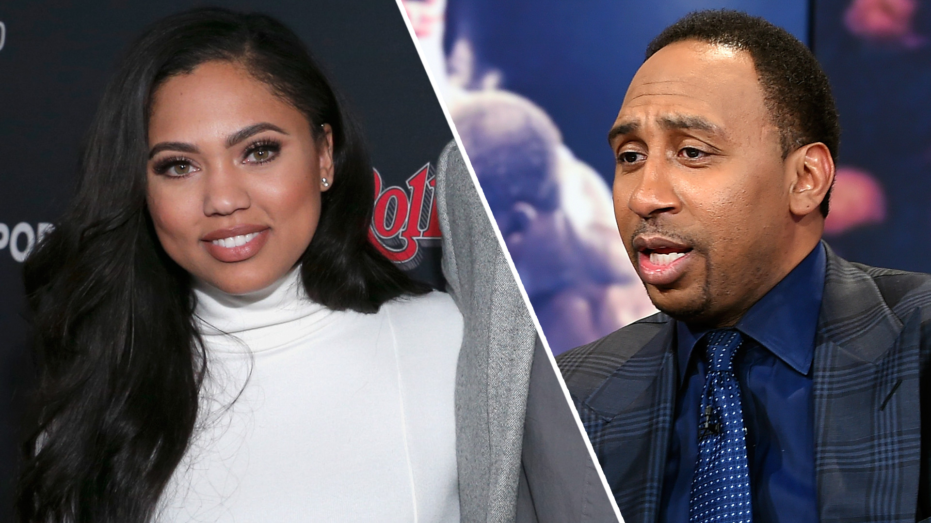 Ayesha Curry, Stephen A. Smith feud after comparison to ...