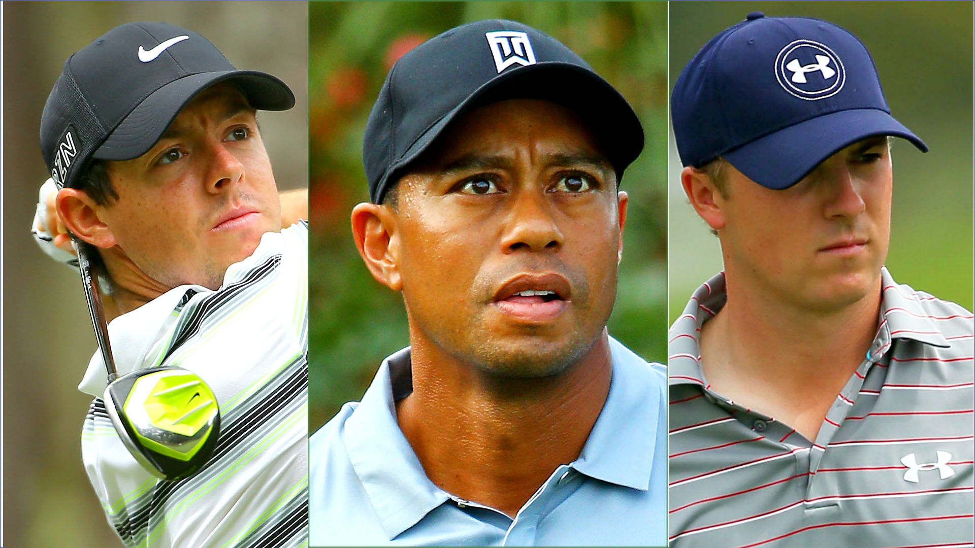 players championship tee times  tiger woods in action at
