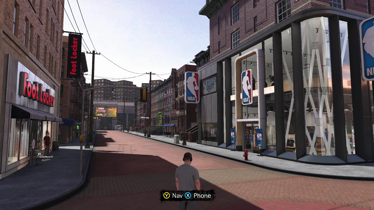 NBA 2K18 Neighborhood