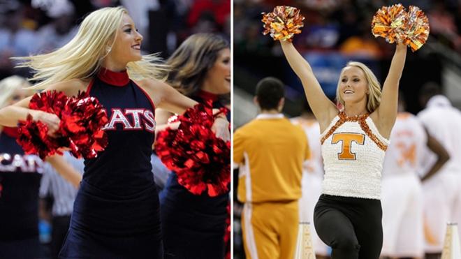 NCAA tournament cheerleaders | Sporting News