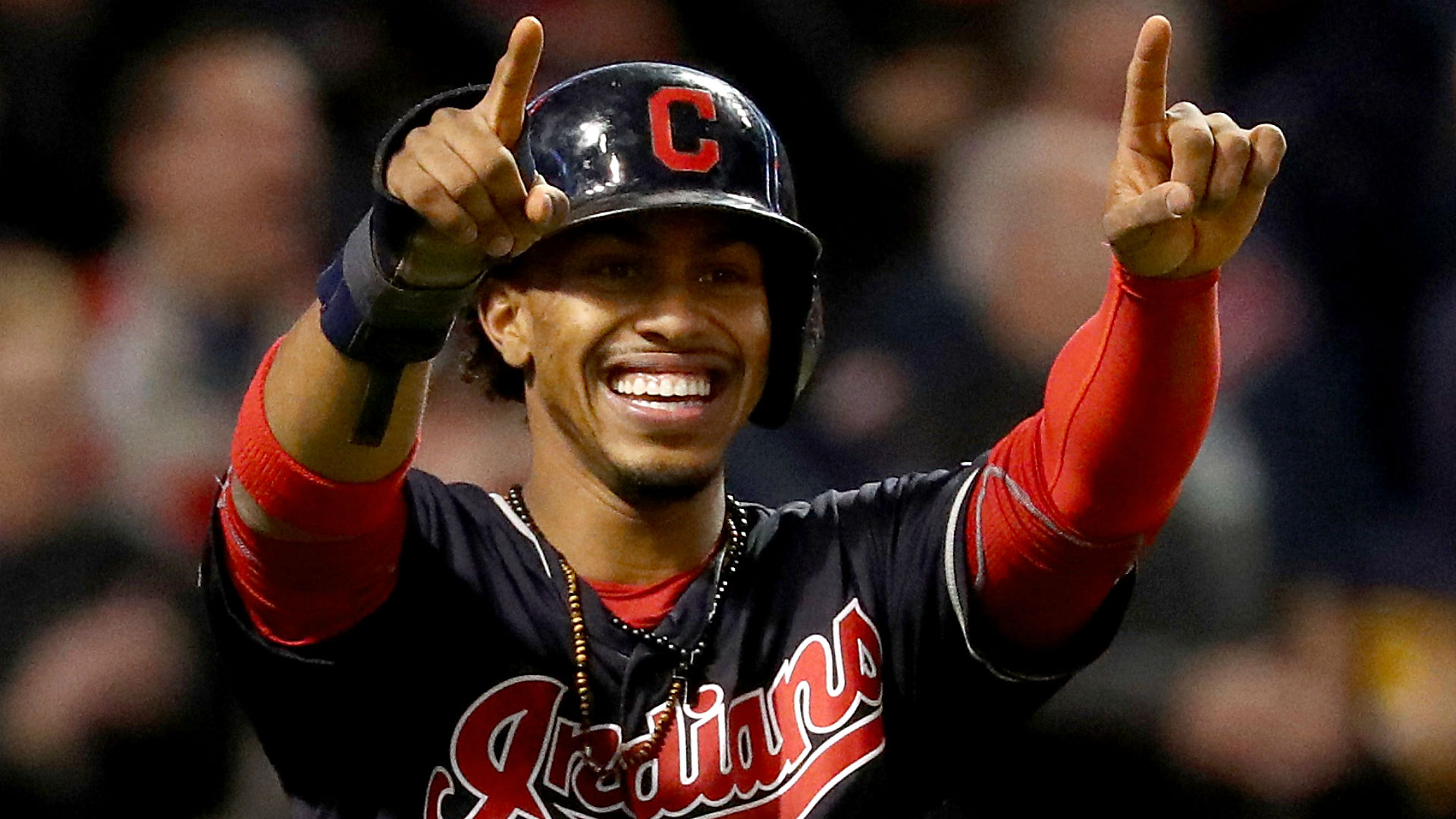 Image result for francisco lindor smile