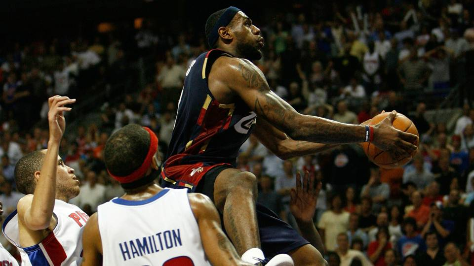 Exactly 10 years ago, LeBron James single-handedly destroyed the Pistons | NBA | Sporting News