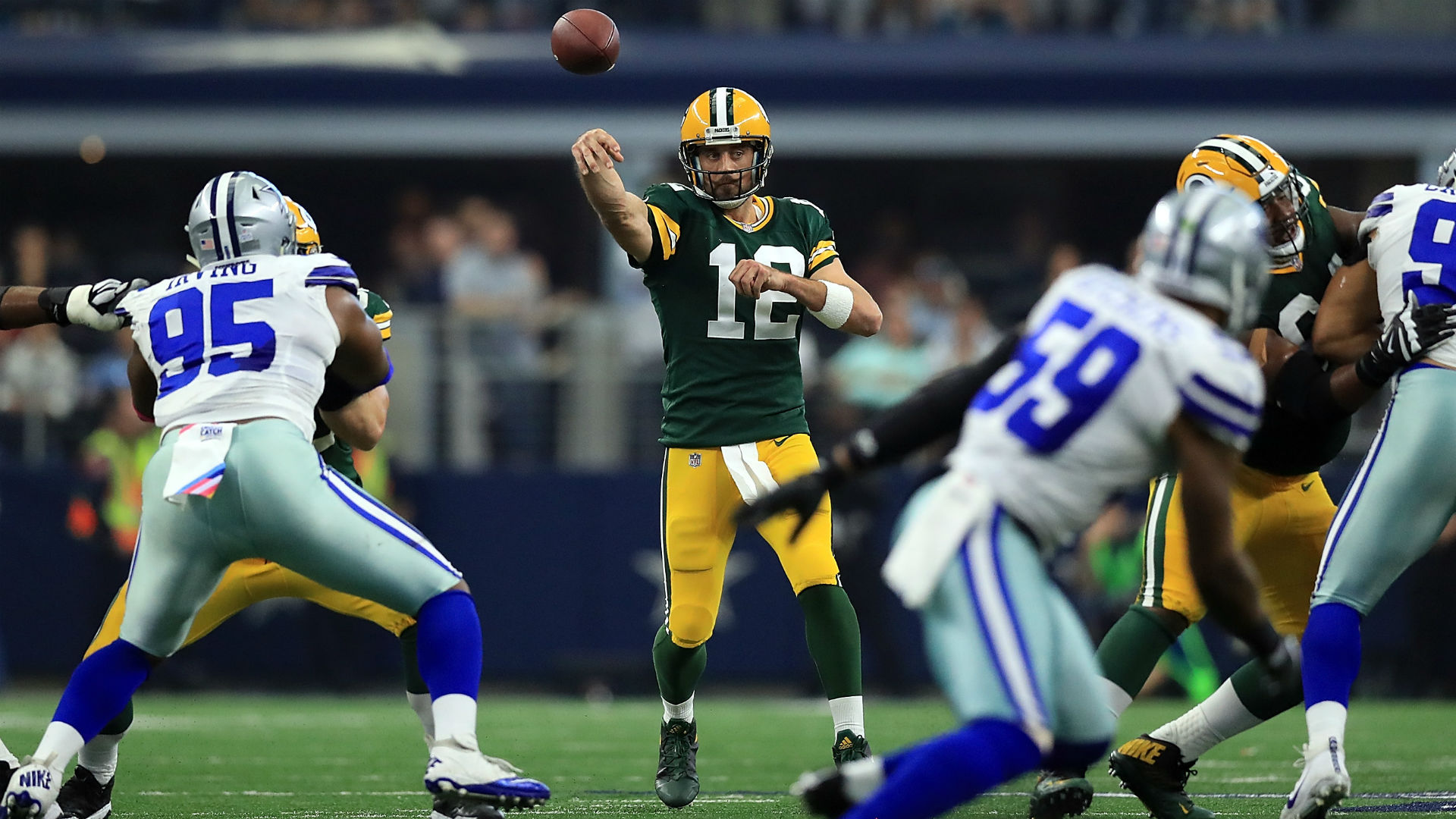 Aaron Rodgers' domination of Dallas has changed tune of Packers-Cowboys rivalry