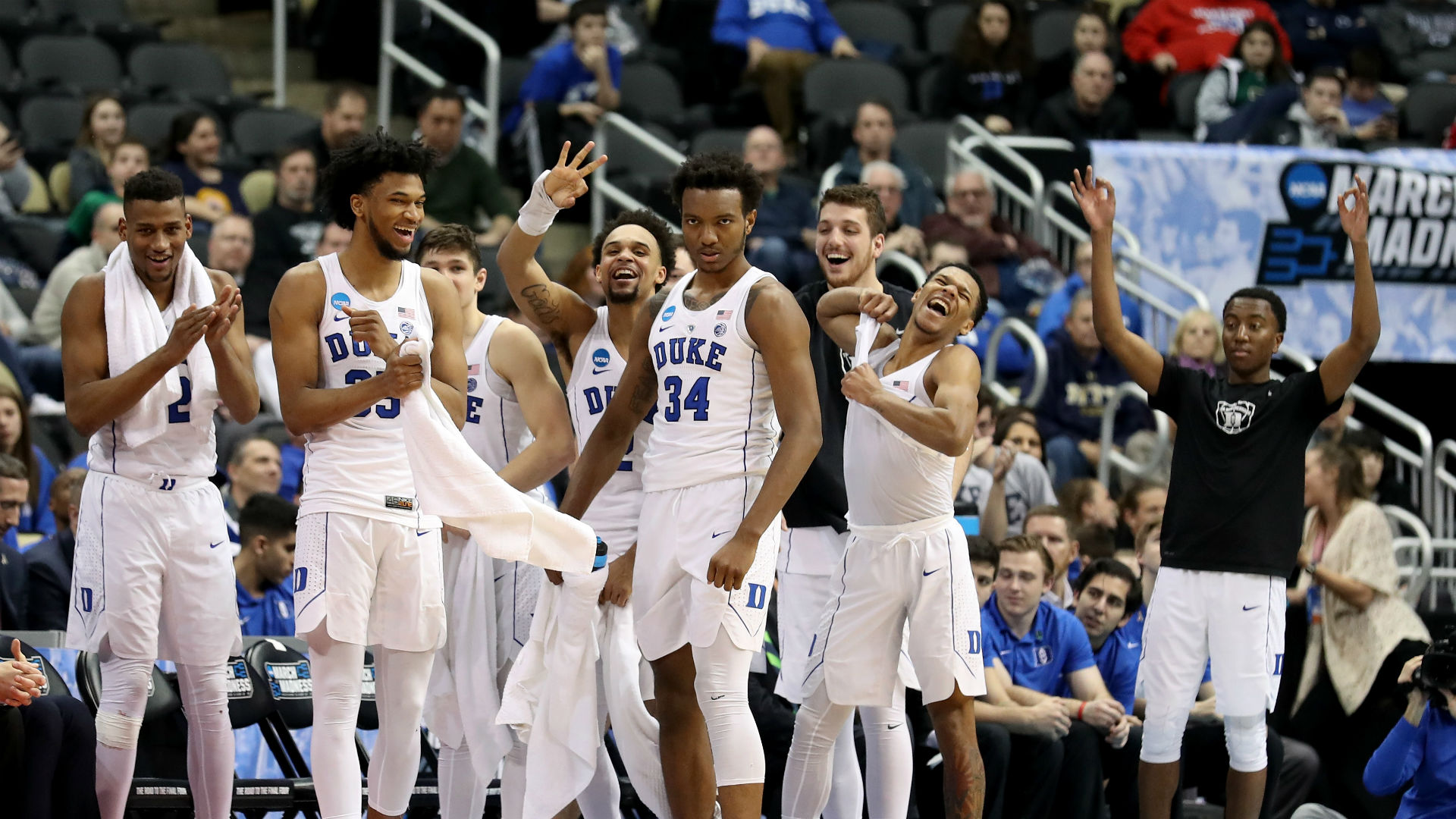 Another record for Duke's Coach K, as the wins pile up