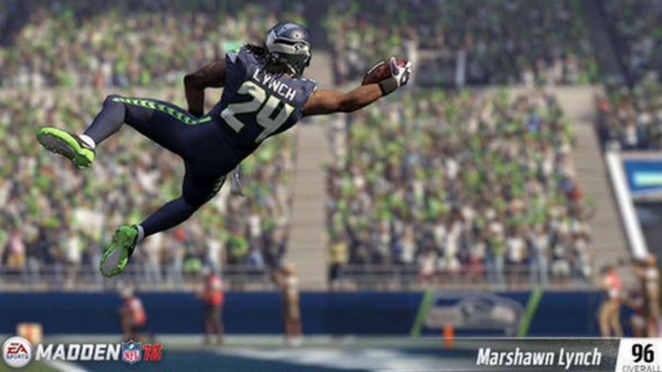 Will Marshawn Lynch grab his crotch in Madden NFL 16?