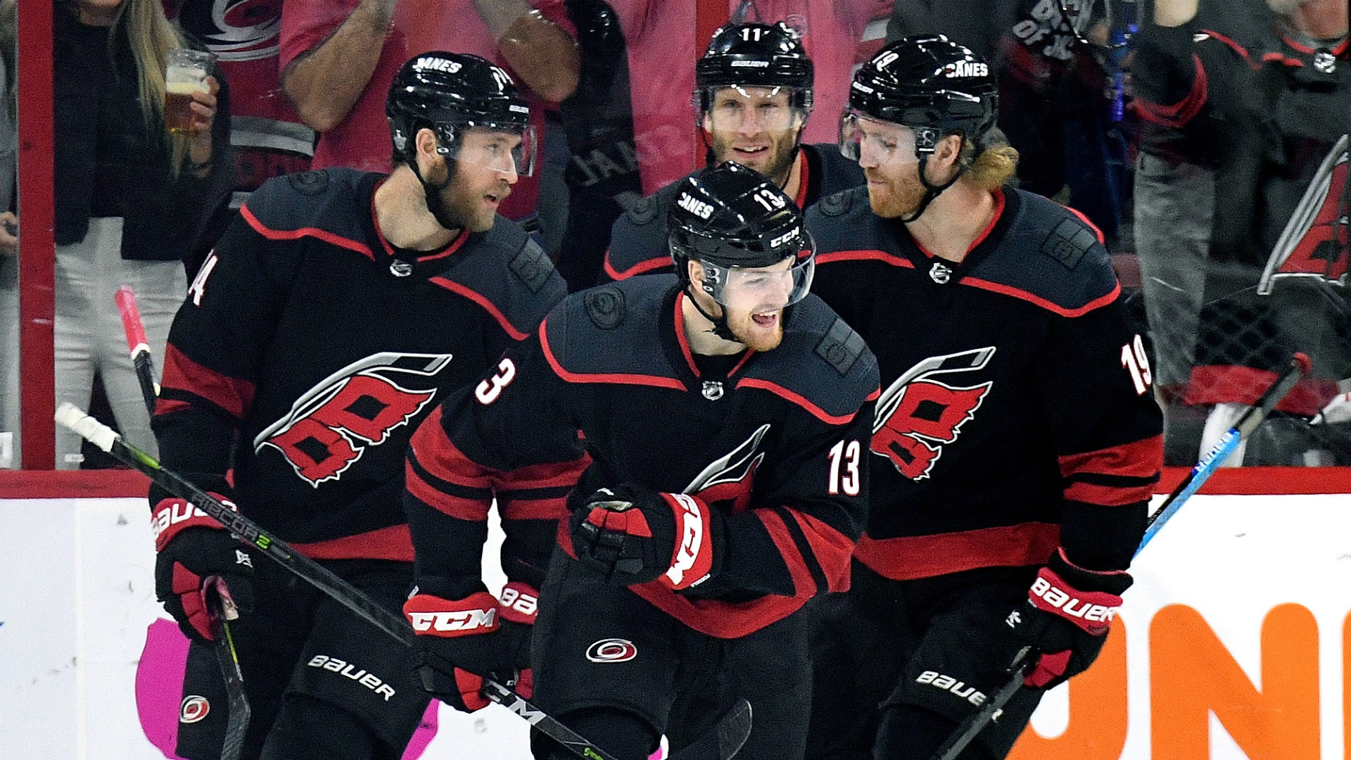 NHL playoffs 2019: Warren Foegele sets Hurricanes record for fastest goal to start a playoff game