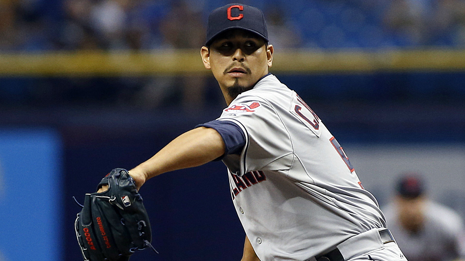 One strike away, Indians' Carlos Carrasco loses no-hitter in ninth inning vs. Rays