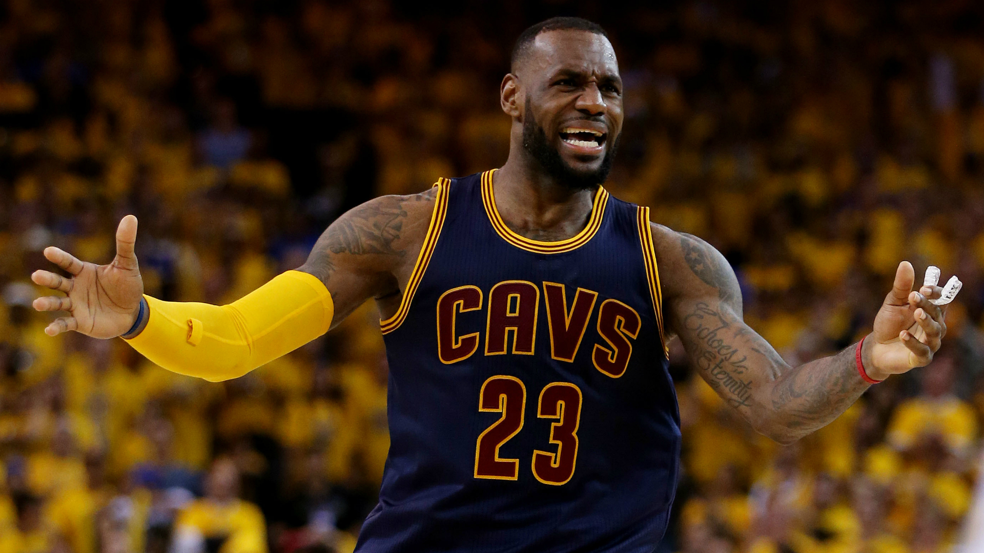 LeBron James' best still not enough vs. these Warriors in ...