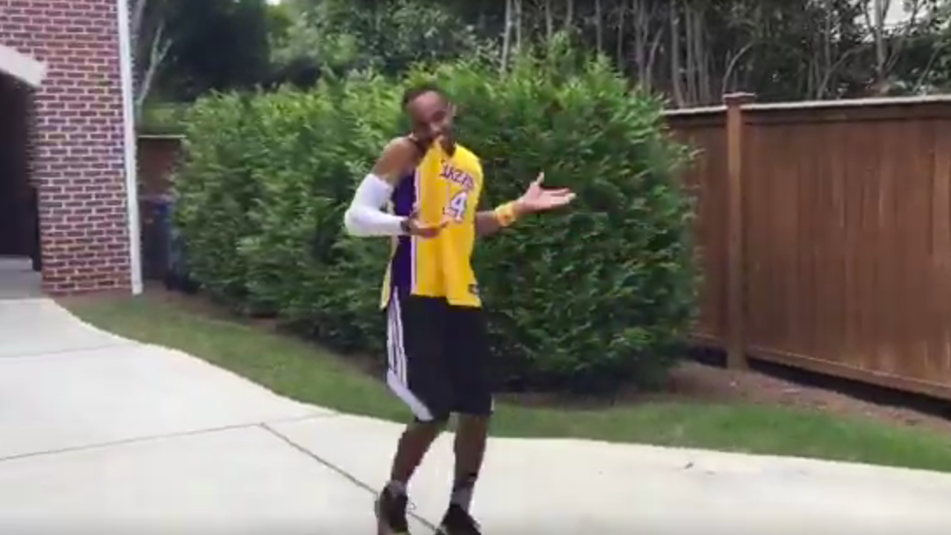 NBA impersonator Brandon Armstrong does a spot-on Kobe Bryant