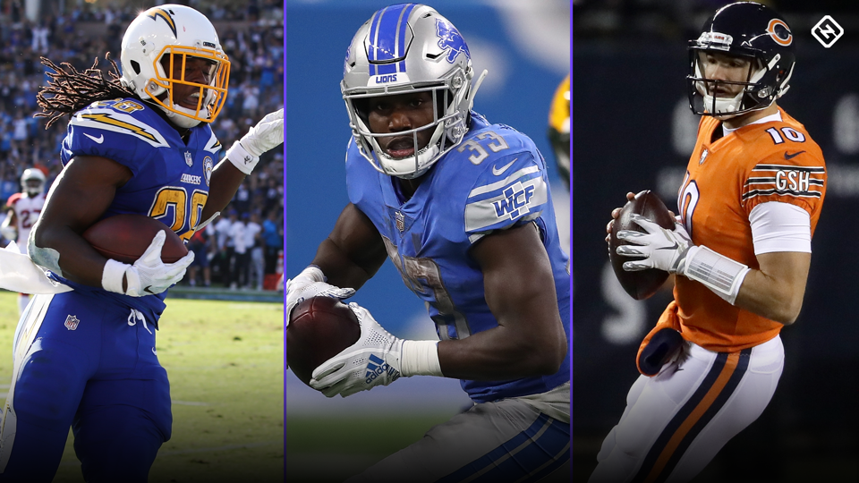 Kerryon Johnson Injury >> Fantasy Injury Updates: Melvin Gordon, Kerryon Johnson, Mitchell Trubisky, more impacting Week ...