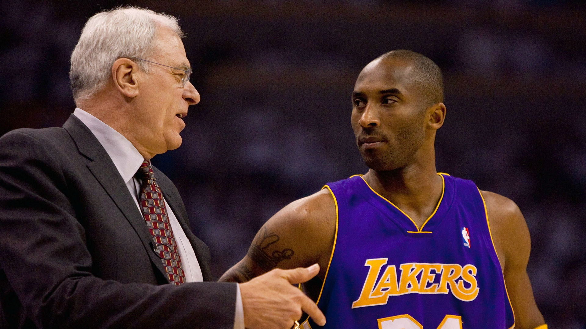 Phil Jackson on coaching Kobe Bryant: 'Quite often I could feel his hatred'