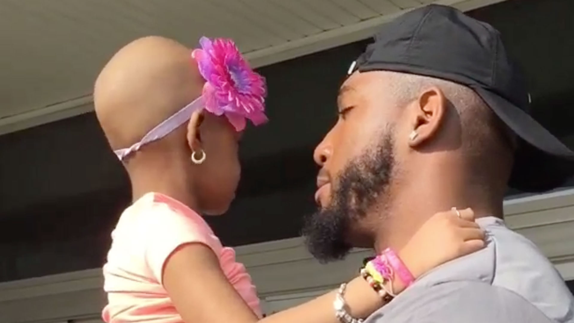 Devon Still says touching goodbye to Leah before training camp