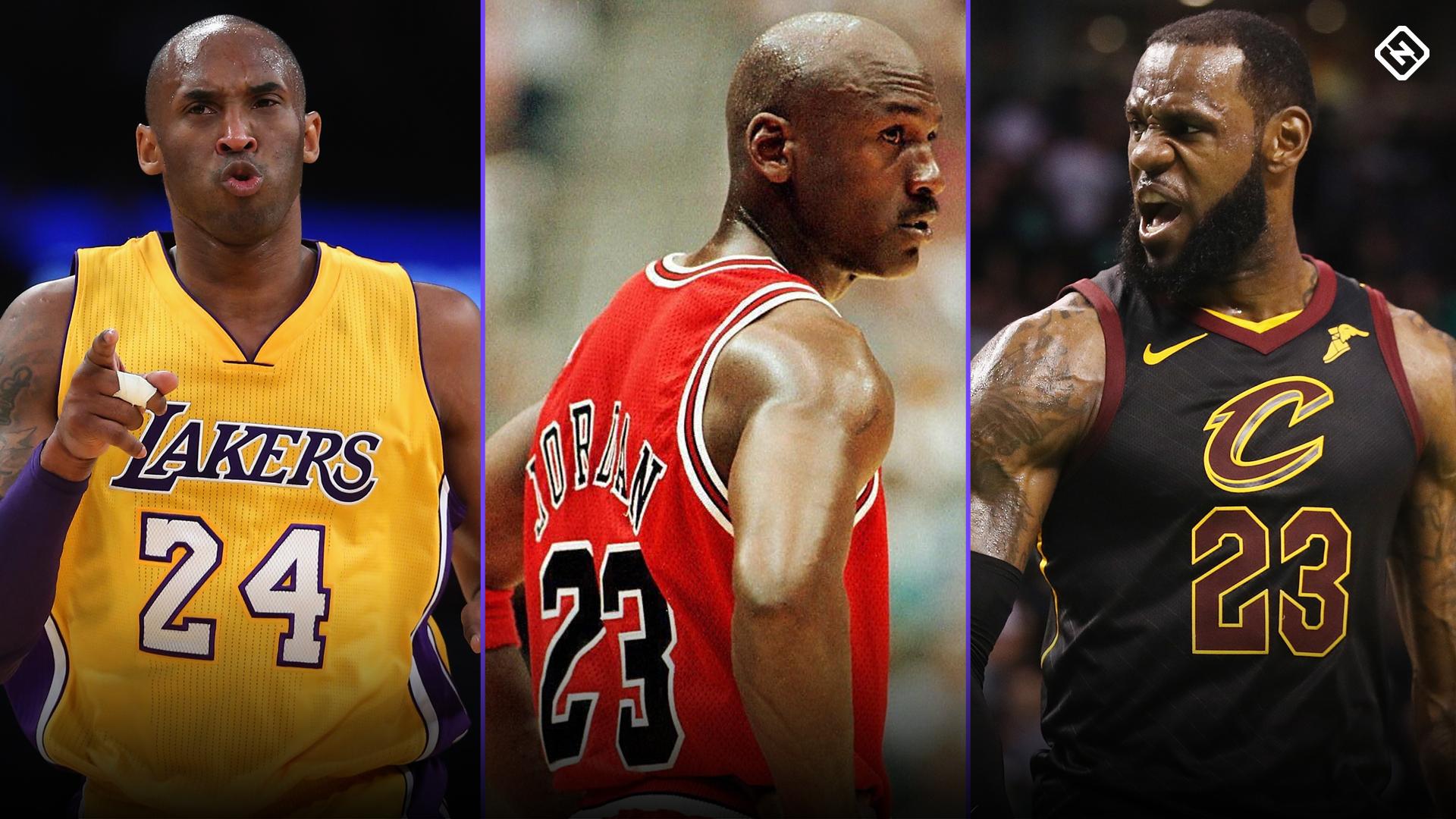 Kobe Bryant Jumping Into Lebron James Michael Jordan Debate Is