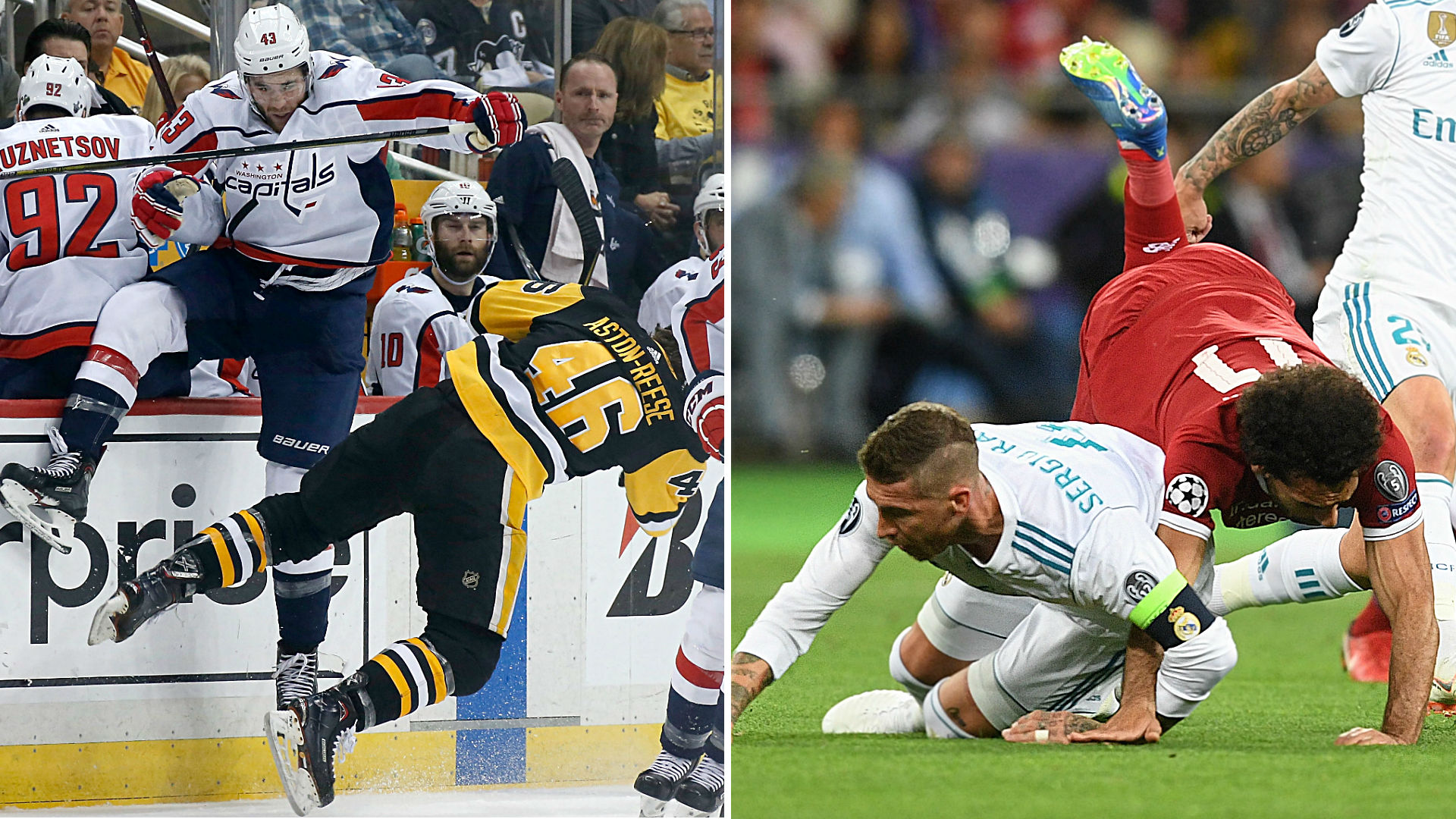Tom Wilson, Sergio Ramos show if you're not breaking rules, you're not doing it right