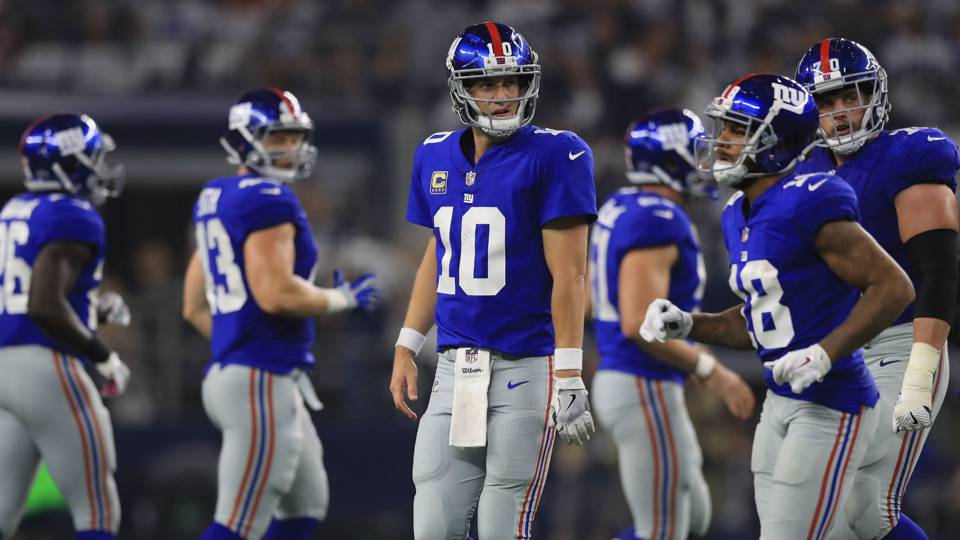Giants schedule 2018  New York s new regime gets chilly reception ... 19f608ee8