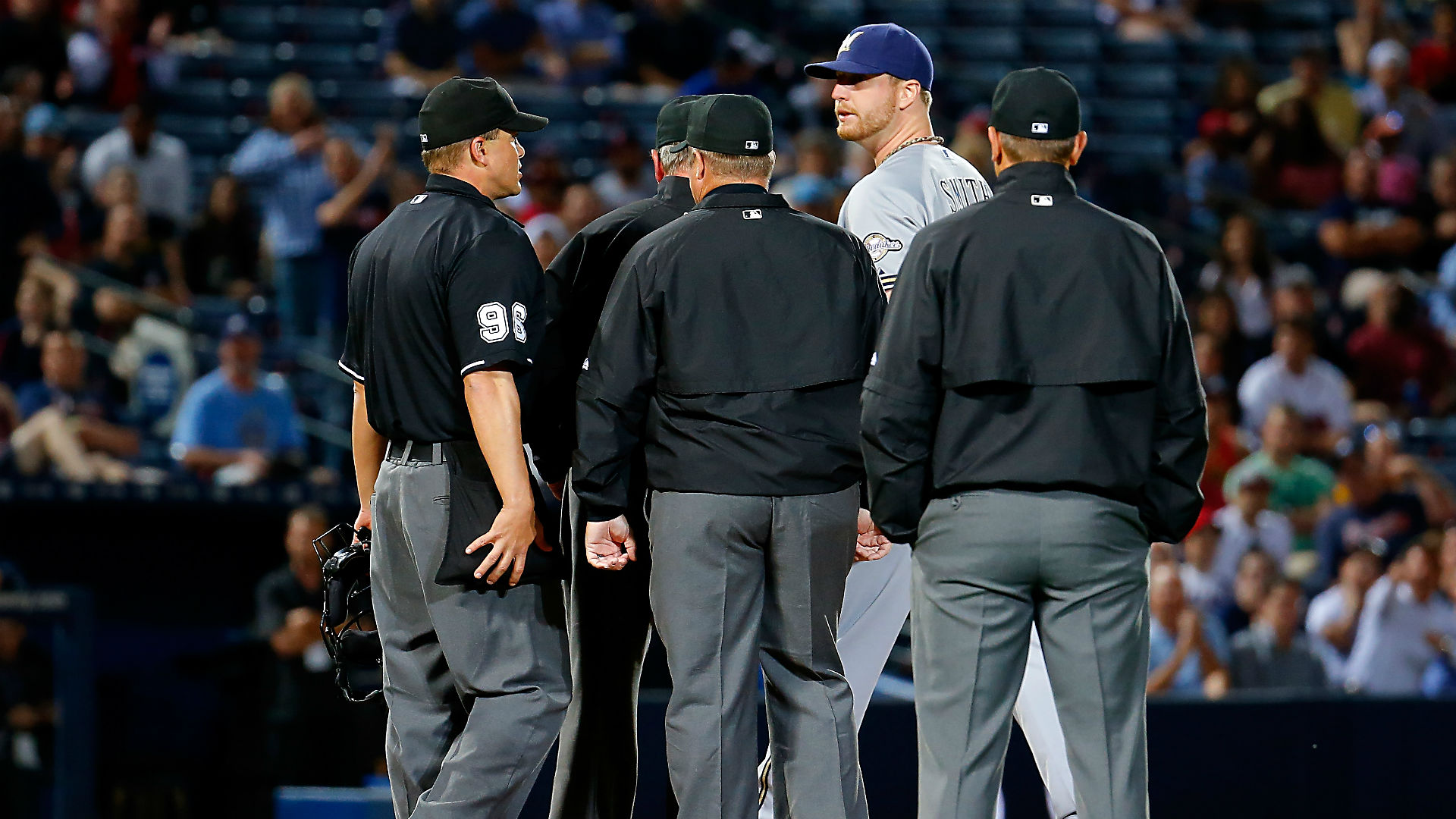 Brewers pitcher Will Smith's suspension puts baseball's unwritten rules in a sticky situation