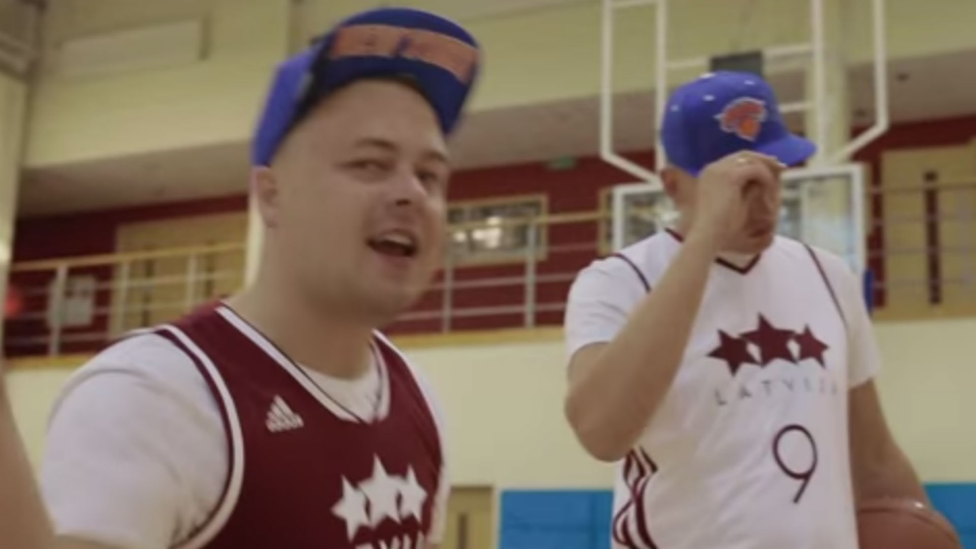 Latvian rap duo makes new anthem for Kristaps Porzingis