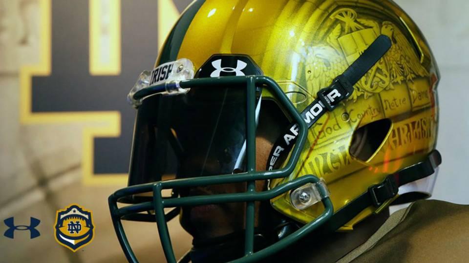 ca21d4dff Notre Dame s  Shamrock Series  uniforms are ... interesting
